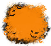 Halloween Grunge Background Royalty Free Stock Photo