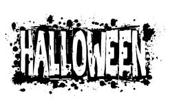 Halloween grungy background Stock Images