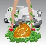 halloween Gry online Zwycięstwo i najwyższa wygrana Obraz Stock