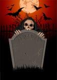 Halloween grymma Reaperanger Arkivbild
