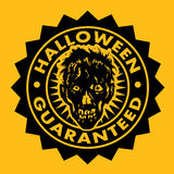 Halloween Guaranteed Zombie Seal Stock Photography