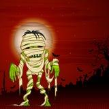 Halloween hälsning Arkivbilder