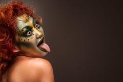 Halloween Hässlicher Fluch Lizenzfreies Stockfoto