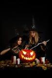 halloween häxor Royaltyfri Fotografi