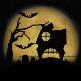 Halloween ha frequentato la Camera Immagine Stock Libera da Diritti