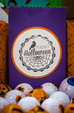 Halloween - Halloween Crafts - Paper Crafting Royalty Free Stock Photos
