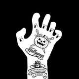 Halloween hand Royalty Free Stock Photography