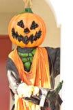Halloween Hanging Evil Pumpkin Decor Royalty Free Stock Photos