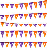 Halloween hanging streamers flags for your party Stock Photography