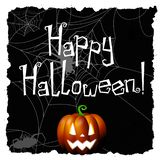 Halloween - Happy Halloween royalty free illustration
