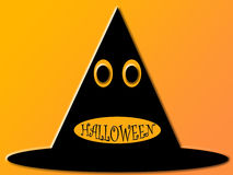 halloween hatt Royaltyfri Illustrationer