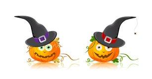 halloween hattpumpa Royaltyfri Foto