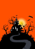 Halloween haunted house Stock Photography