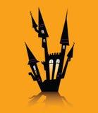 Halloween haunted house Stock Image