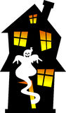 Halloween Haunted House Royalty Free Stock Image