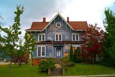 Halloween-Haus Stockfoto