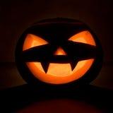 halloween head pumpa Fotografering för Bildbyråer