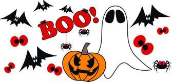 Halloween header stock image