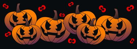 Halloween header Stock Photo