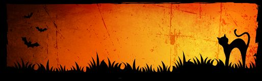 Halloween header / background Royalty Free Stock Photos