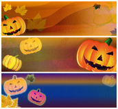 Halloween Headers Royalty Free Stock Photo