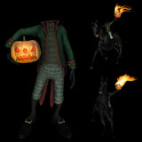 Halloween Headless Horseman Stock Photo