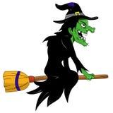 Halloween-heks Stock Fotografie