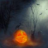 Halloween hell hound. Stock Photos