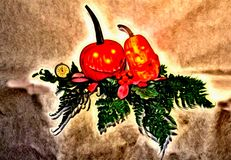 Halloween. Helloween photo painting feast of world traditions gourd pumpkin fairy tale backdrop banner Royalty Free Stock Photo