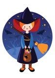 Halloween-Hexe Stockbilder