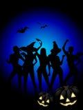 Halloween-Hexe-Party Stockfotos
