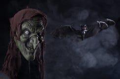 Halloween-Hexen-Stütze Lizenzfreie Stockbilder