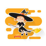Halloween-Hexerei Lizenzfreie Stockfotos