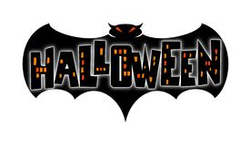 Halloween-Hieb Lizenzfreies Stockbild