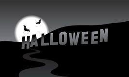 Halloween Hills Stock Photo