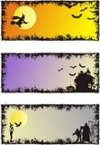 Halloween-Hintergründe Lizenzfreie Stockfotografie