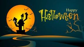 Halloween-Hintergrund Stockbild