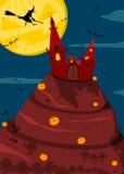 Halloween-Hintergrund. stock abbildung