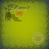 Halloween-Hintergrund mit Schläger lizenzfreie abbildung