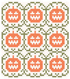 Halloween-Hintergrund mit symmetrischem Muster vektor abbildung