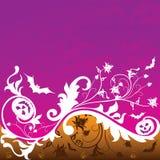 Halloween-Hintergrund, Vektor Stockbild