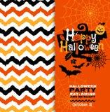 Halloween-Hintergrund von netten Kürbisen Abstrakter Hintergrund des Herbstes Lizenzfreies Stockfoto