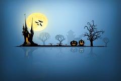 Halloween-Hintergrundideenkonzept Lizenzfreie Stockfotografie