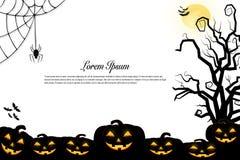 Halloween-Hintergrundideenkonzept Lizenzfreie Stockfotos
