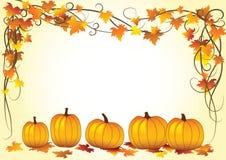 Halloween-Hintergrundvektorabbildung Lizenzfreie Stockfotografie