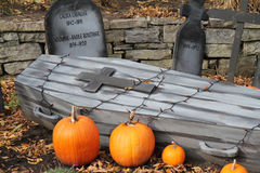 Halloween and history Royalty Free Stock Image