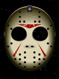 Halloween-Hockey-Schablone Lizenzfreies Stockbild