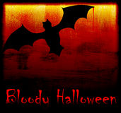 Halloween holiday background card Stock Photography