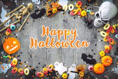 Halloween holiday background royalty free stock images