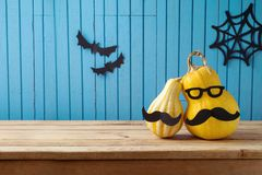 Halloween holiday background Stock Image